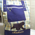 Large tote with Bouvier des Flandres