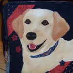 Yellow lab bag