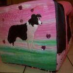 Border collie bag