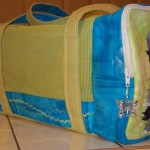 Side of standard schnauzer bag