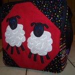 Sheep bag for a herding breed