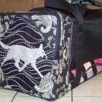 White shepherd bag